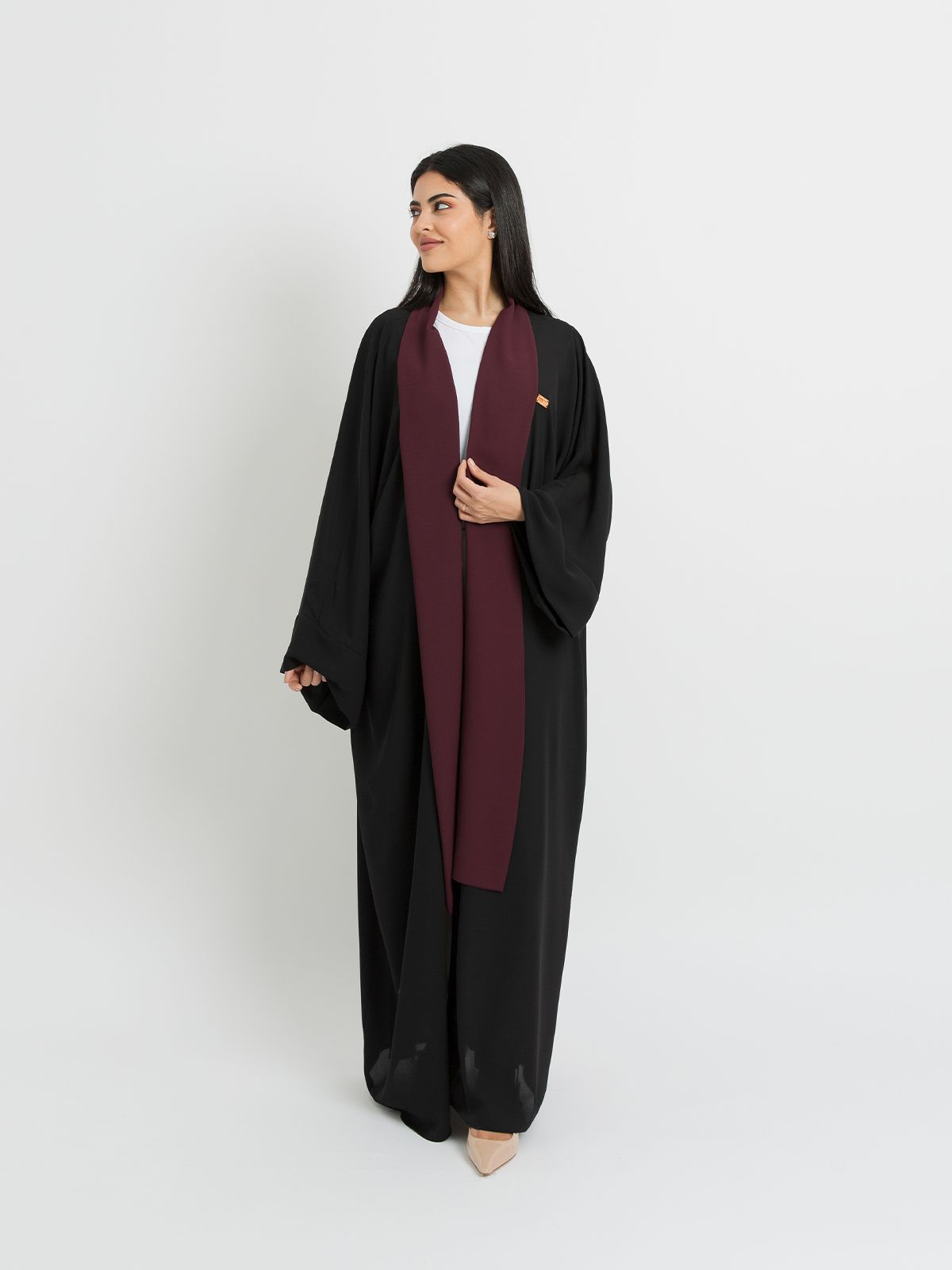 Black with Maroon- FlowStyle