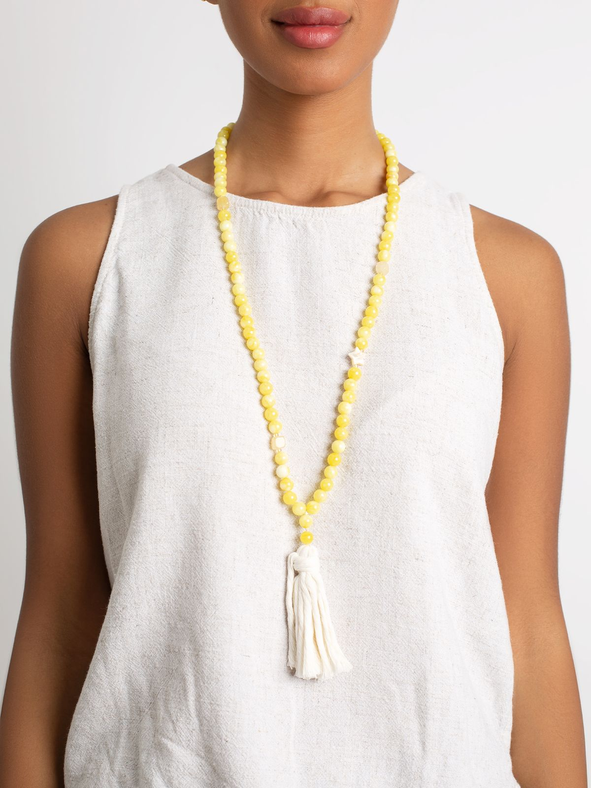 Yellow Starluck- Necklace
